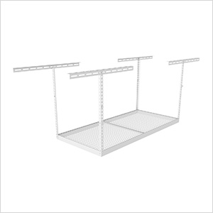 "4'x6' Overhead Storage Rack 24""-45"" Drop"