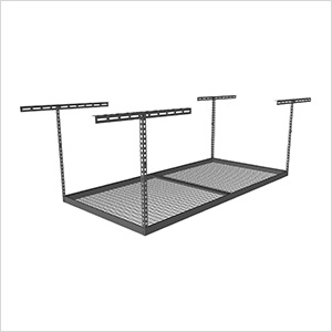 "4'x8' Overhead Storage Rack 24""-45"" Drop"