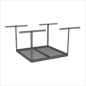 """4'x4' Overhead Storage Rack 18""""-33"""" Drop"""