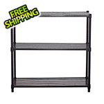 Trinity 3-Tier Slat Shelving Rack