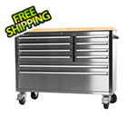 "Trinity 48"" Stainless Steel Workbench"