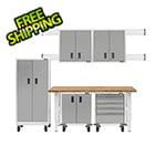 Gladiator GarageWorks 11-Piece White Garage Cabinet System