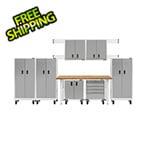 Gladiator GarageWorks 13-Piece White Garage Cabinet Set