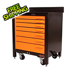 Swivel Storage Solutions 7-Drawer 30-Inch Rolling Workbench