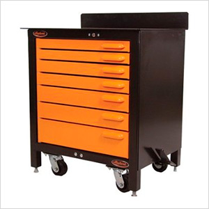 7-Drawer 30-Inch Rolling Workbench