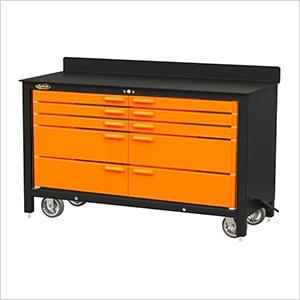 10-Drawer 60-Inch Rolling Workbench