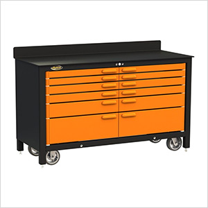 12-Drawer 60-Inch Rolling Workbench