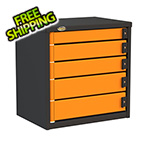 Swivel Storage Solutions 5-Drawer 24-Inch Service Tool Box