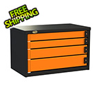 Swivel Storage Solutions 4-Drawer 30-Inch Service Tool Box