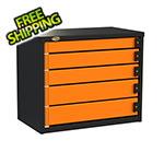 Swivel Storage Solutions 5-Drawer 30-Inch Service Tool Box