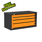 Swivel Storage Solutions 4-Drawer 36-Inch Service Tool Box