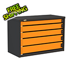 Swivel Storage Solutions 5-Drawer 36-Inch Service Tool Box