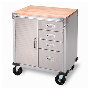 UltraHD Rolling Storage Cabinet with Drawers