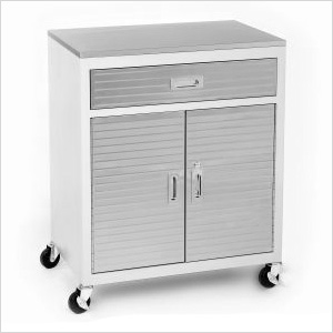 UltraHD One Drawer Cabinet with Stainless Steel Top