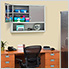 UltraHD Wall Cabinet with Open Shelf