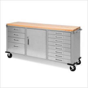 UltraHD 12-Drawer Rolling Workbench