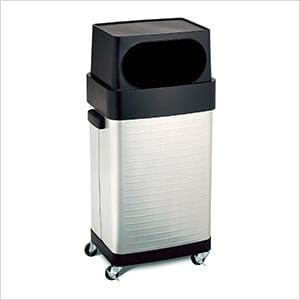 UltraHD Commercial Stainless Steel Trash Bin