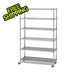Seville Classics Heavy Duty 6-Tier Industrial Shelving
