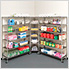 Heavy Duty 6-Tier Industrial Shelving