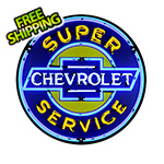 Neonetics Chevy Service 36-Inch Neon Sign