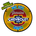 Neonetics Chevrolet Parts 36-Inch Neon Sign