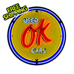 Neonetics OK Used Cars 36-Inch Neon Sign