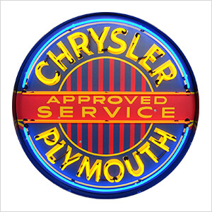 Chrysler Plymouth 36-Inch Neon Sign