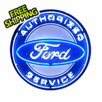Neonetics Ford Service 36-Inch Neon Sign
