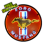 Neonetics Ford Mustang 36-Inch Neon Sign