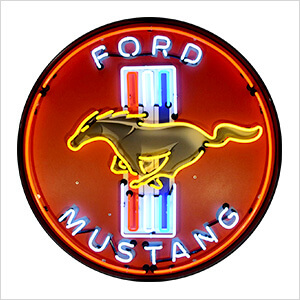Ford Mustang 36-Inch Neon Sign