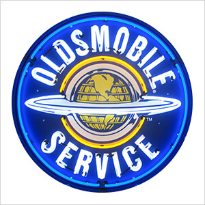 Oldsmobile Service 36-Inch Neon Sign