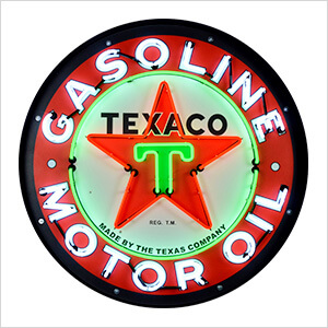 Texaco Motor Oil 36-Inch Neon Sign