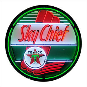 Texaco Sky Chief 36-Inch Neon Sign