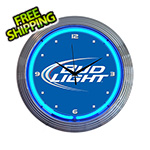 Neonetics 15-Inch Bud Light Neon Clock