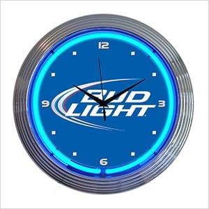 15-Inch Bud Light Neon Clock