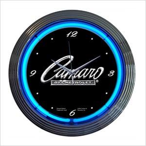 15-Inch Chevrolet Camaro Neon Clock