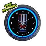 Neonetics 15-Inch Chevy Camaro Neon Clock