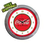 Neonetics 15-Inch Coca-Cola 1910 Classic Neon Clock
