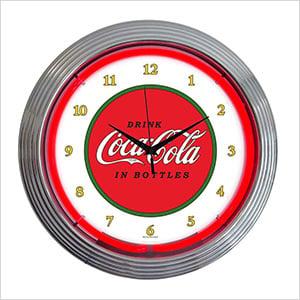 15-Inch Coca-Cola 1910 Classic Neon Clock