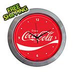 Neonetics 15-Inch Coca-Cola Wave Neon Clock