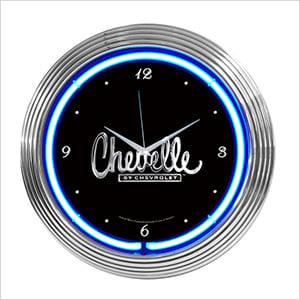 15-Inch Chevelle Neon Clock