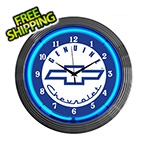 Neonetics 15-Inch Chevy Neon Clock