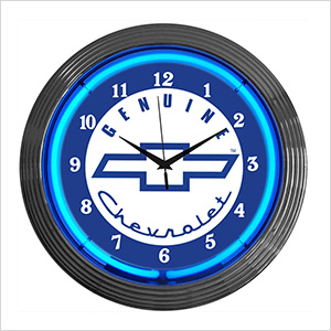 15-Inch Chevy Neon Clock