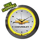 Neonetics 15-Inch Chevrolet Neon Clock