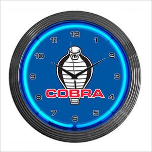 15-Inch Ford Cobra Neon Clock
