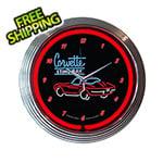 Neonetics 15-Inch Corvette SR Neon Clock