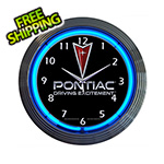 Neonetics 15-Inch Pontiac Driving Excitement Neon Clock