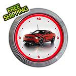 Neonetics 15-Inch Ford Mustang Boss 302 Neon Clock
