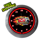 Neonetics 15-Inch Ford Fueled By Passion Neon Clock