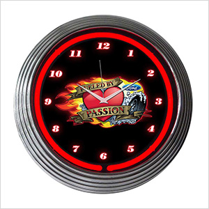 15-Inch Ford Fueled By Passion Neon Clock